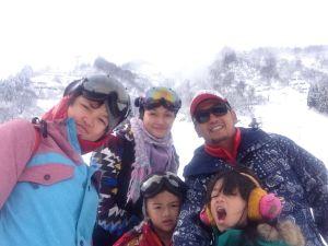 Dimas Bimantoro Family